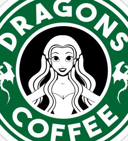 Drangons Coffee Sticker