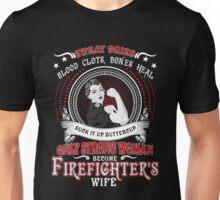 firefighter's wife t shirt Unisex T-Shirt