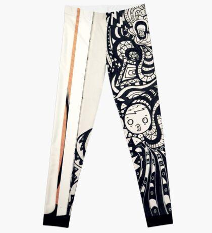 More Doodle Leggings