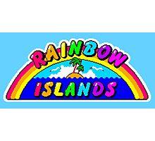 Rainbow Islands Title Photographic Print