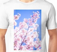 Cherry Blossom, Philosopher's Path, Kyoto, Japan Unisex T-Shirt