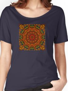 Mosaic Squared Women's Relaxed Fit T-Shirt