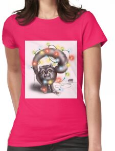 Garland Сat Womens Fitted T-Shirt