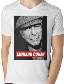 COHEN Mens V-Neck T-Shirt