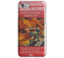 Dungeon Dragon Red Box iPhone Case/Skin