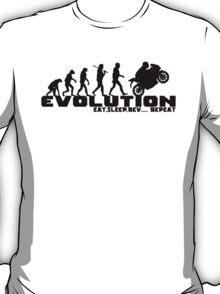 Biker Evolution T-Shirts and Hoodies T-Shirt