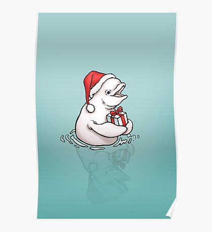 A gift from whale Poster