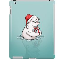 A gift from whale iPad Case/Skin
