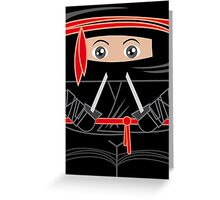 Ninja Warrior Greeting Card