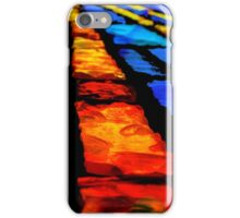 The Stained Glass Bricks iPhone Case/Skin