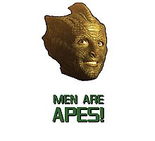 Doctor Who's Madame Vastra - Men are Apes! Photographic Print