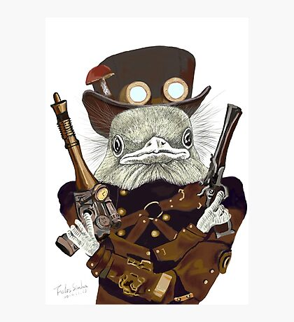 Wild West Bird Ranger Photographic Print