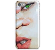 Green Glitter Vixen iPhone Case/Skin