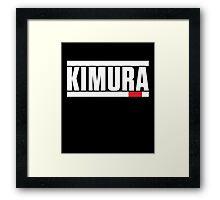 Kimura Brazilian Jiu-Jitsu (BJJ) Framed Print