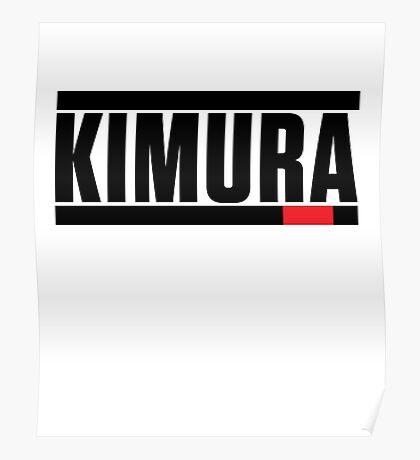Kimura Brazilian Jiu-Jitsu (BJJ) Poster