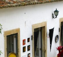 Walled City of Obidos - Portugal Sticker