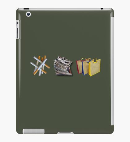 Fags, Mags & Bags  iPad Case/Skin