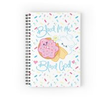 Blood for the Blood God - Donut & Ice Cream Spiral Notebook