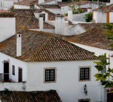Rooftops - Obidos Sticker