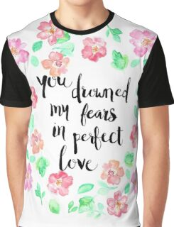 Perfect Love on White Graphic T-Shirt