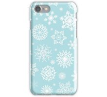 Christmas Snow flakes iPhone Case/Skin