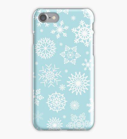 Christmas Snow flakes iPhone Case/Skin