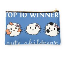 Top Ten Challenge Banner (for contest) Studio Pouch