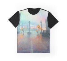 Rainy Evening in Venice Graphic T-Shirt