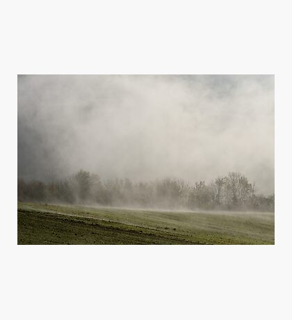 When the landscape reappears Photographic Print