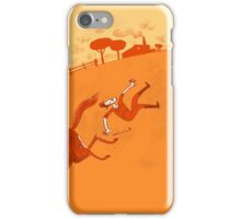 der ungückliche Reiter iPhone Case/Skin