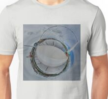 Peace Bridge Panorama - River Foyle, Derry Unisex T-Shirt