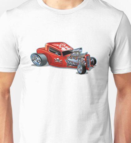 Cartoon hotrod Unisex T-Shirt