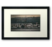 2016/CO/62 - By the sea Framed Print