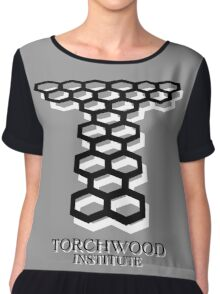 Torchwood Chiffon Top