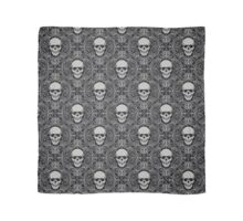 abstract skulls Scarf