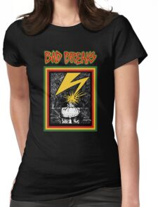 Bad Breaks Womens Fitted T-Shirt