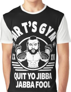 Mr T's Gym Graphic T-Shirt