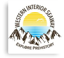 Western Interior Seaway Canvas Print