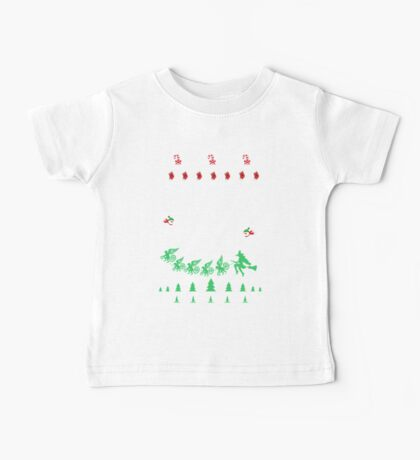 Wicked Ugly Christmas Sweatshirt Baby Tee