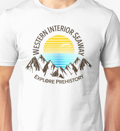 Western Interior Seaway Unisex T-Shirt