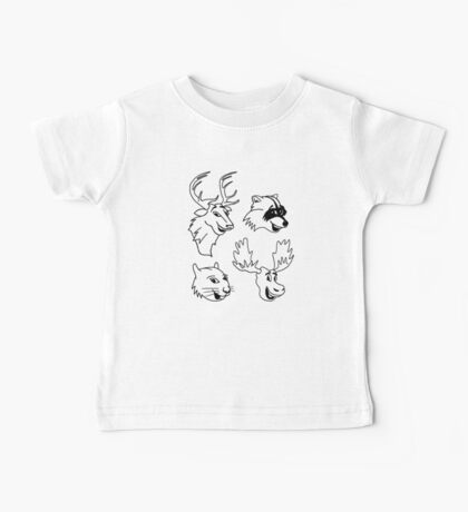 Animal Friends of Nature Baby Tee