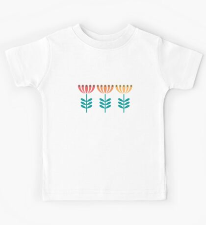 Honeysuckle [flowers trio] Kids Tee