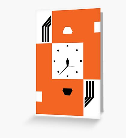 Brutalist Life Cycle Greeting Card