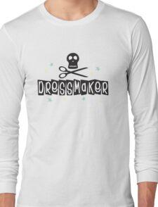 Crafty Kitsch - Dressmaker (black text) Long Sleeve T-Shirt