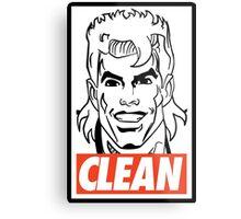 CLEAN Metal Print