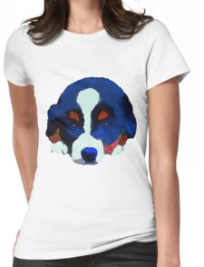 Colourful Puppy Womens Fitted T-Shirt