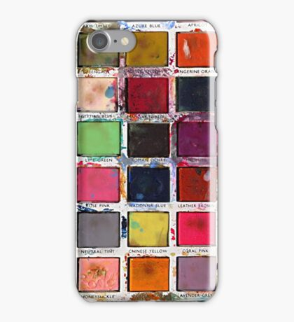 Vintage Paint Box iPhone Case/Skin