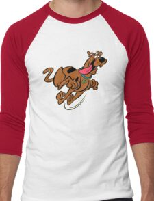 funny scooby doo  Men's Baseball ¾ T-Shirt