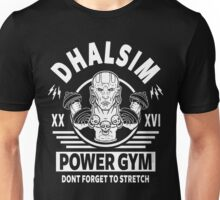 Street Fighter, Dhalsim Power Gym Unisex T-Shirt
