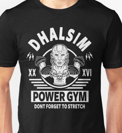 Street Fighter, Dhalsim Power Gym Unisex T-Shirt
